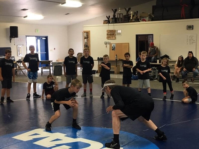 4-Day Wrestling Camp - Sports Outreach Northwest